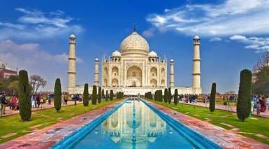 INDIA, TRIÁNGULO DE ORO Y VARANASI (CON TREN INTERNO)      -                     Amber, Fatehpur Sikri, Fuerte Amber, Fuerte Rojo, Taj Mahal, Puerta de la India                     Río Ganges, Nueva Delhi, Agra, Benarés, Jaipur