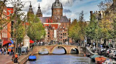 Ámsterdam, Praga y Alemania