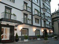 Outside Hotel San Pietro Naples