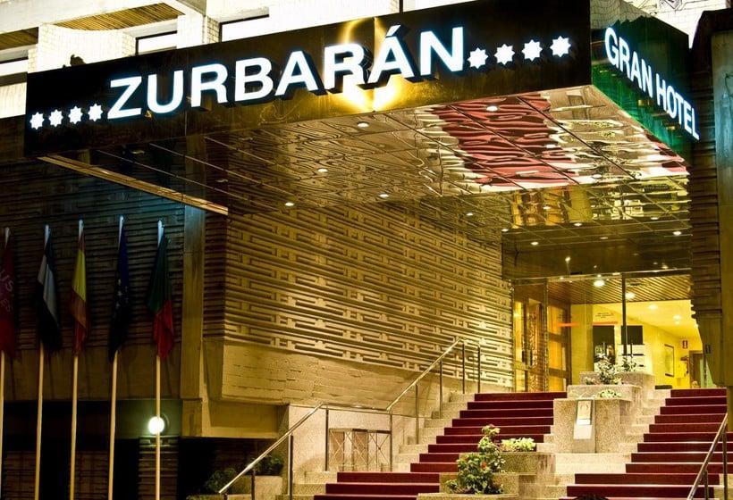 Outside Gran Hotel Zurbaran Badajoz