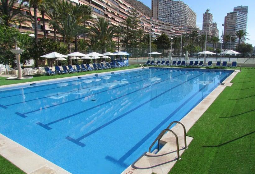 Piscina Hotel Albahia  Alicante