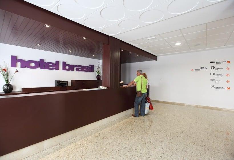 Front desk Hotel Brasil Benidorm