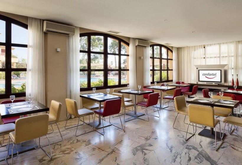 Restaurant Hotel Ilunion Golf Badajoz