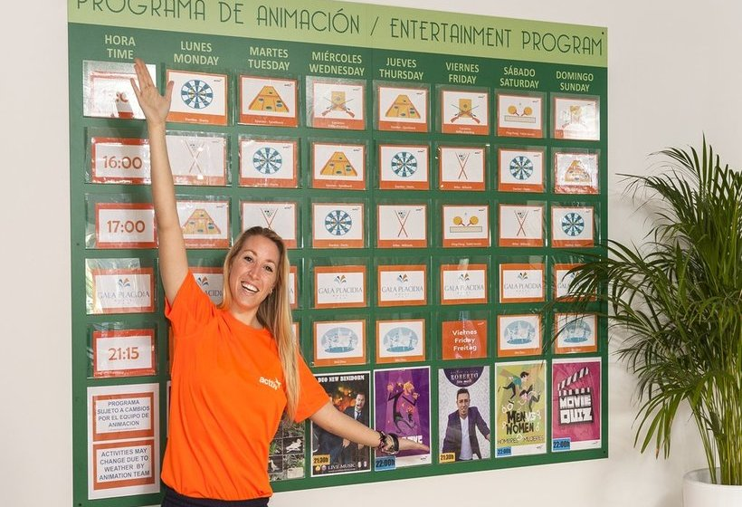 Room Hotel Gala Placidia Benidorm