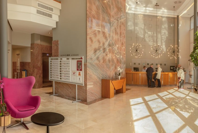 Reception Hotel RH Princesa Benidorm