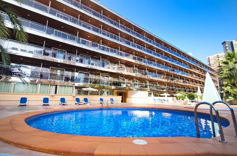 Hotel servigroup diplomatic benidorm as melhores ofertas for Oferta hotel familiar benidorm