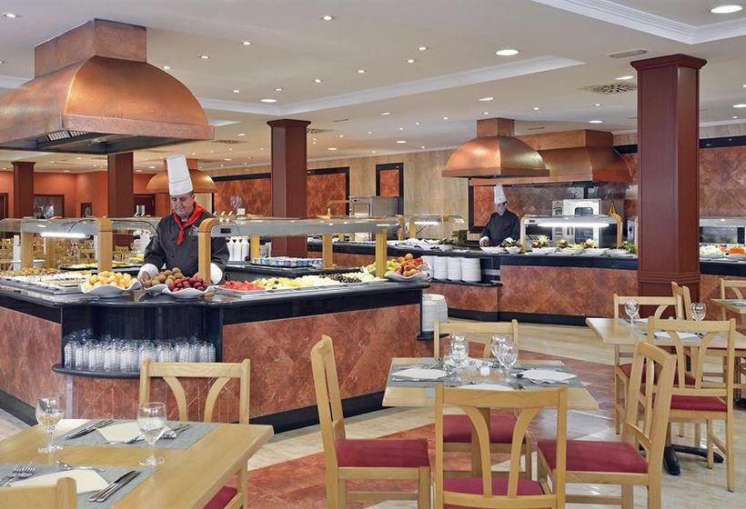Restaurant Hotel Sol Pelícanos Ocas Benidorm