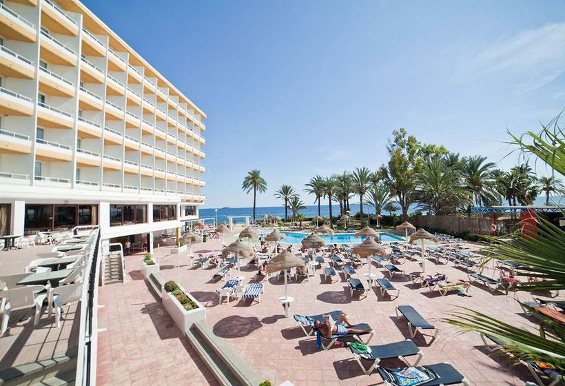 Swimming pool Hotel The New Algarb Playa d'en Bossa