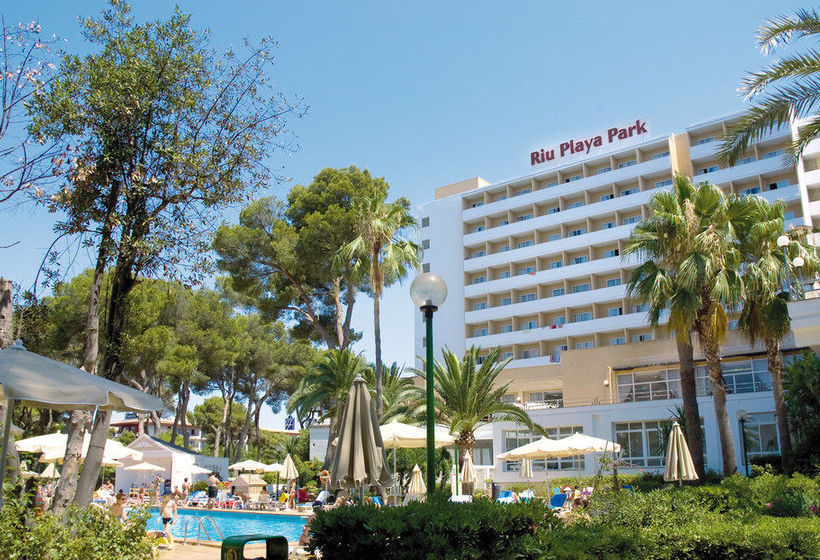 Outside Hotel Riu Playa Park Platja de Palma