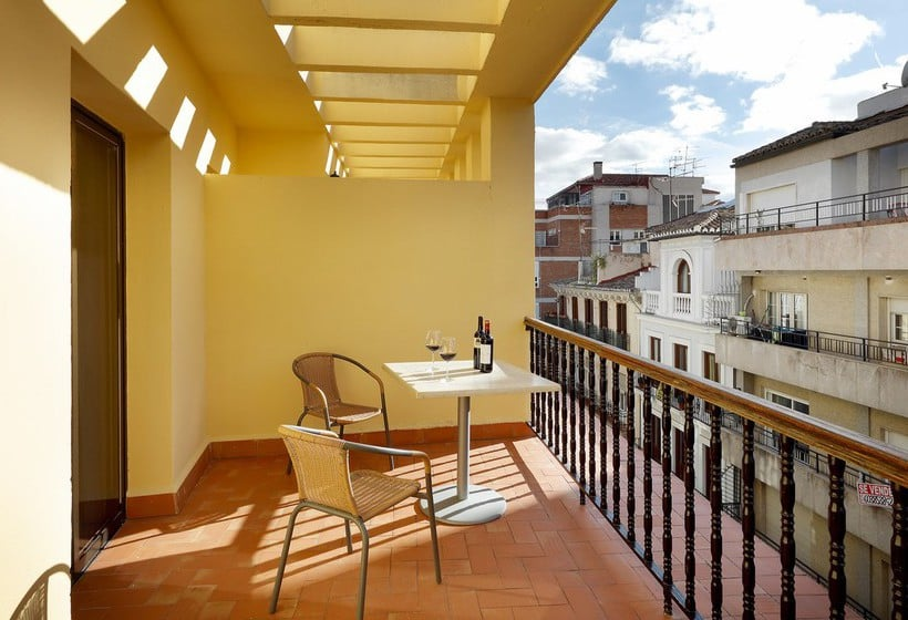 Terrace Hotel Juan Miguel Granada