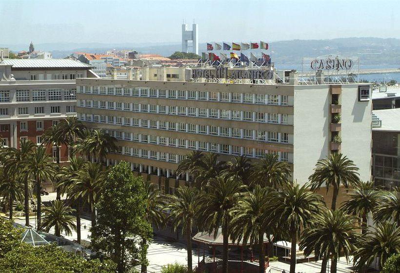 Outside Hotel NH Atlántico A Corunya
