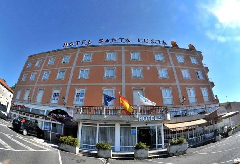 Outside Hotel Santa Lucía Santiago de Compostela