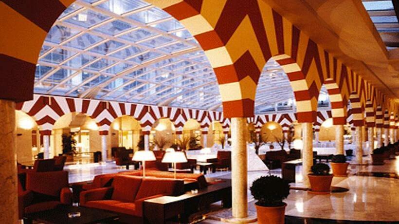 مناطق متداول هتل Silken Al-Andalus Palace سویا