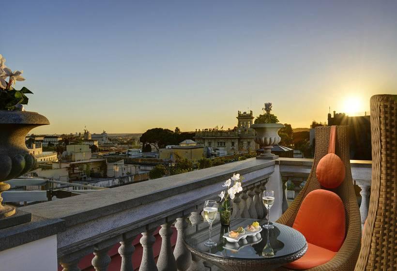 Terraza Hotel Savoy Roma