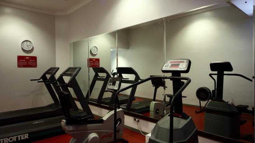 Sports facilities Hotel Crowne Plaza Riyadh Minhal