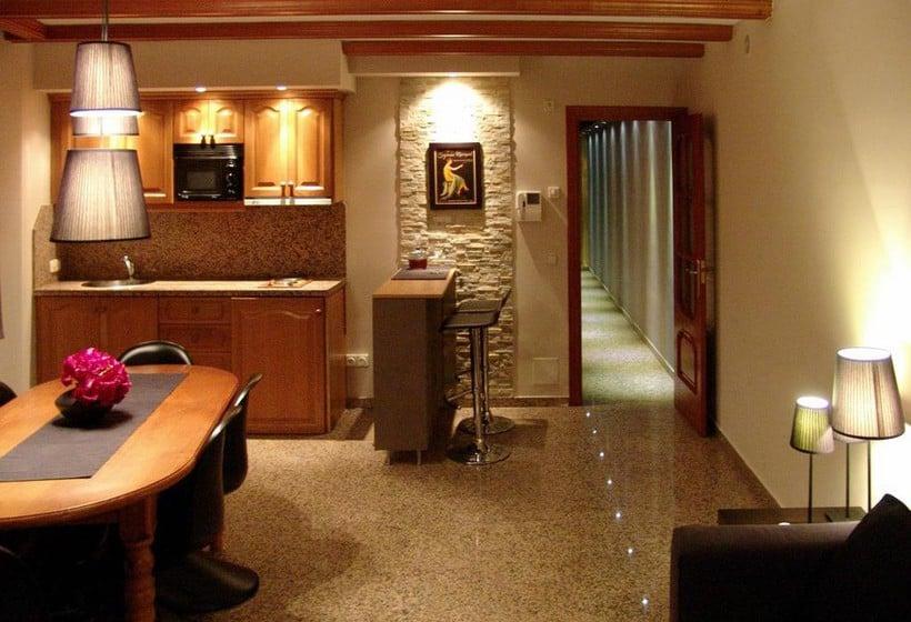 Zonas comunes Aparthotel Casa Vella Ordino