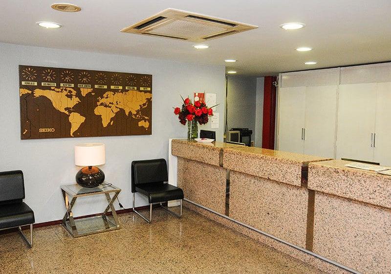 Front desk Hotel Almedina Coimbra