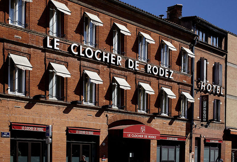 هتل Le Clocher de Rodez Toulouse