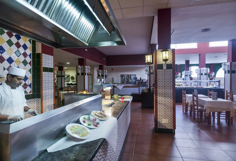 Restaurant Apartamentos Best Pueblo Indalo Mojacar