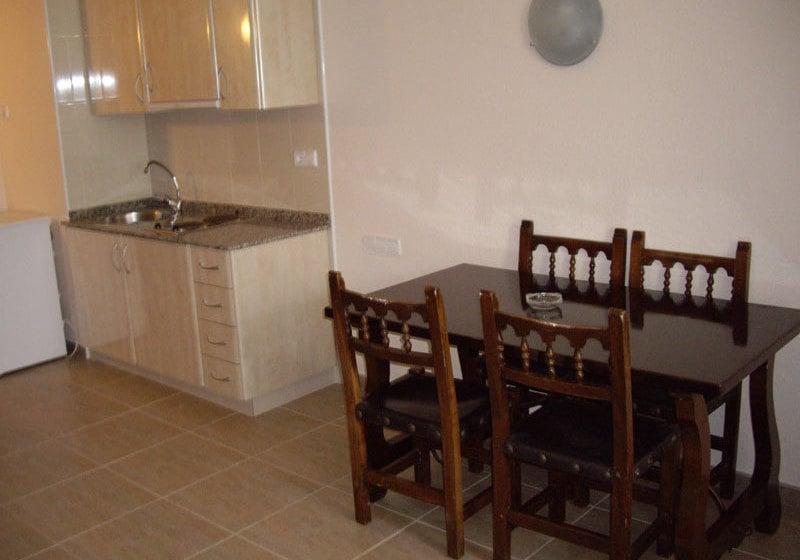 آشپزخانه Complejo Eurhostal Alcoceber