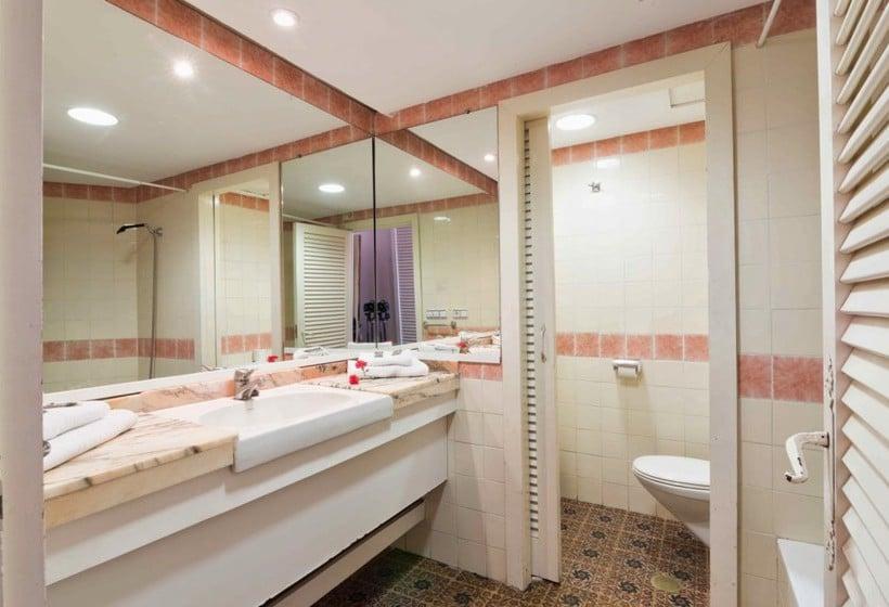 Bathroom Complejo Eurhostal Alcoceber