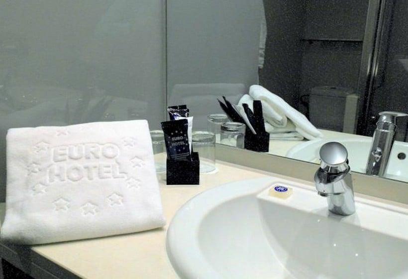 Cuarto de baño Eurohotel Diagonal Port Barcelona