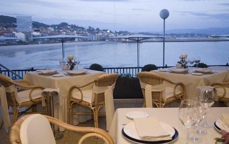 Restaurant Gran Talaso Hotel Sanxenxo