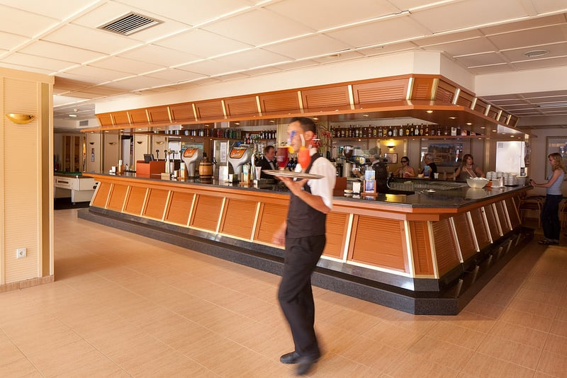 Cafeteria Hotel H Top Calella Palace