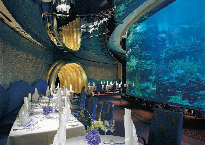 Restaurant Hotel Jumeirah Burj Al Arab  Dubai
