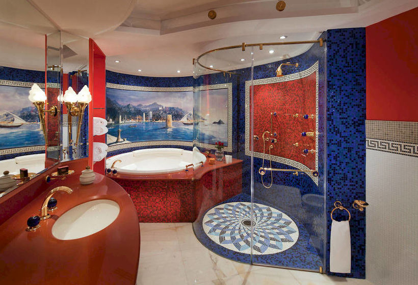 Bathroom Hotel Jumeirah Burj Al Arab  Dubai