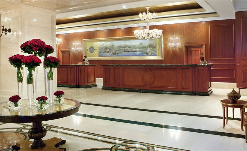 Front desk Hotel The Ritz-Carlton Istanbul