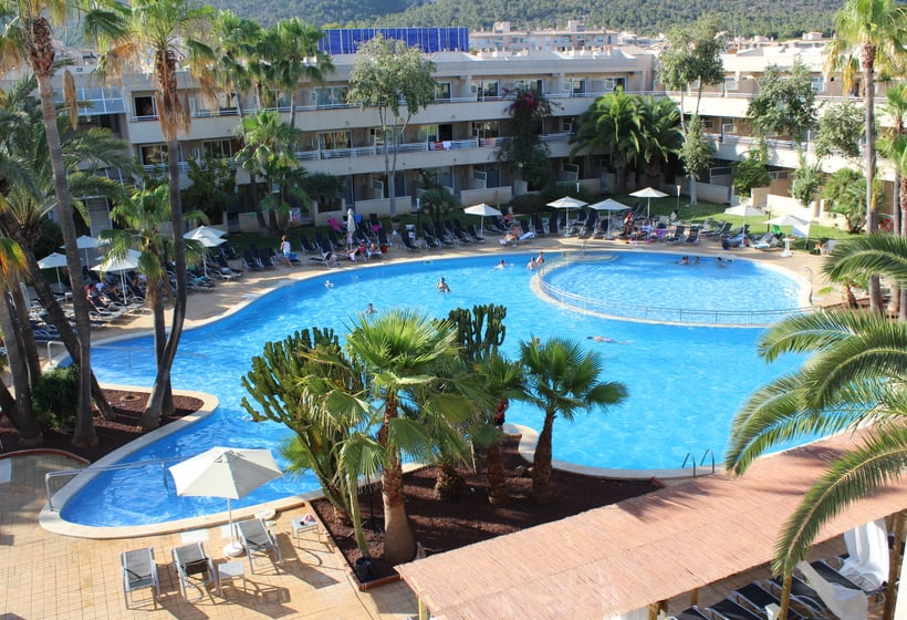 hotel ibersol son caliu mar all inclusive a palmanova a