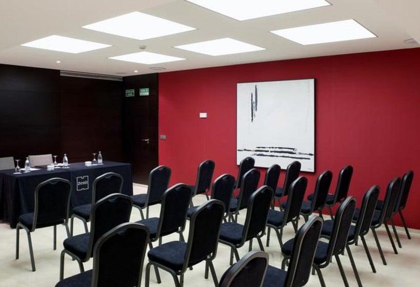 اتاق جلسه هتل Zenit Bilbao بیلبائو