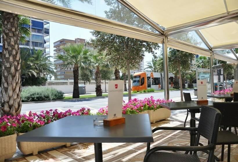 Cafeteria Hotel Castilla Alicante Playa de San Juan