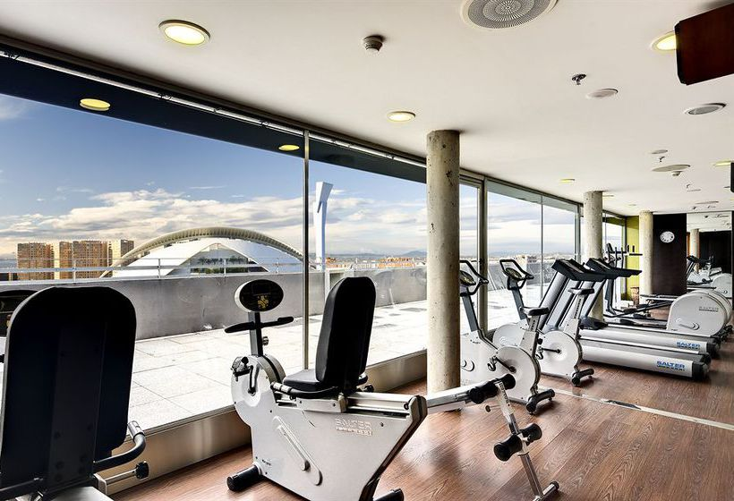 Sports facilities Hotel Barceló Valencia