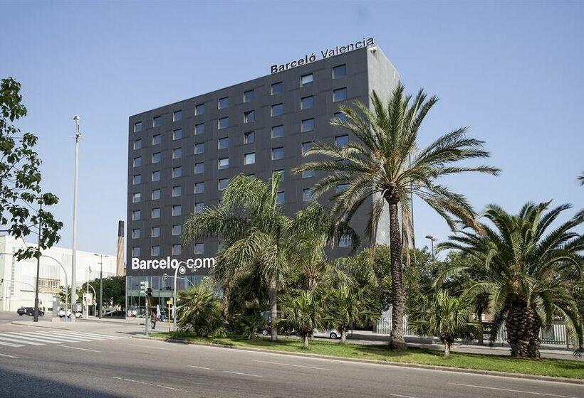 Outside Hotel Barceló Valencia