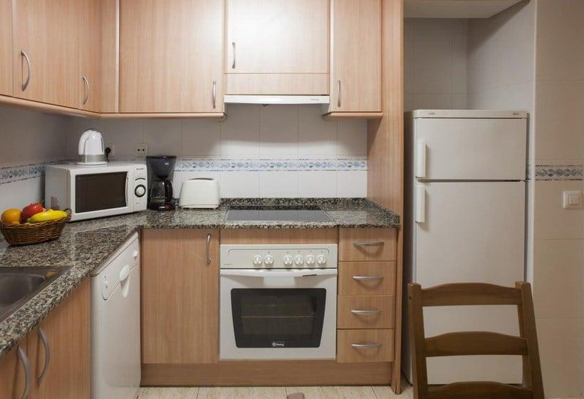 Cuisine Apartamentos Ibersol Siesta Dorada Salou