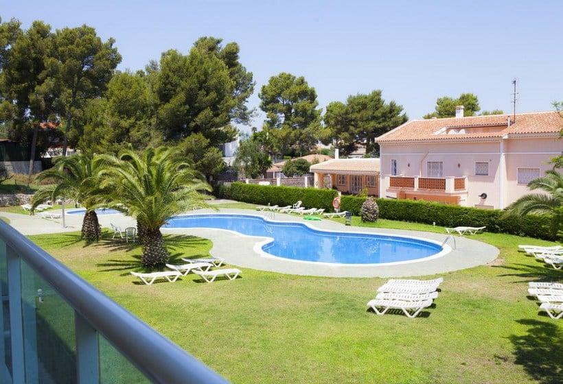 Swimming pool Apartamentos Ibersol Siesta Dorada Salou