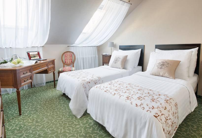 Room Hotel Angelis Prague
