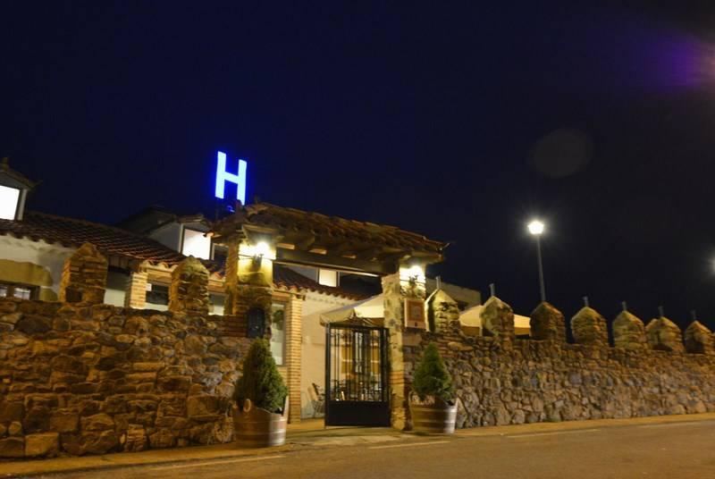 Outside Hotel Campos de Castilla Soria