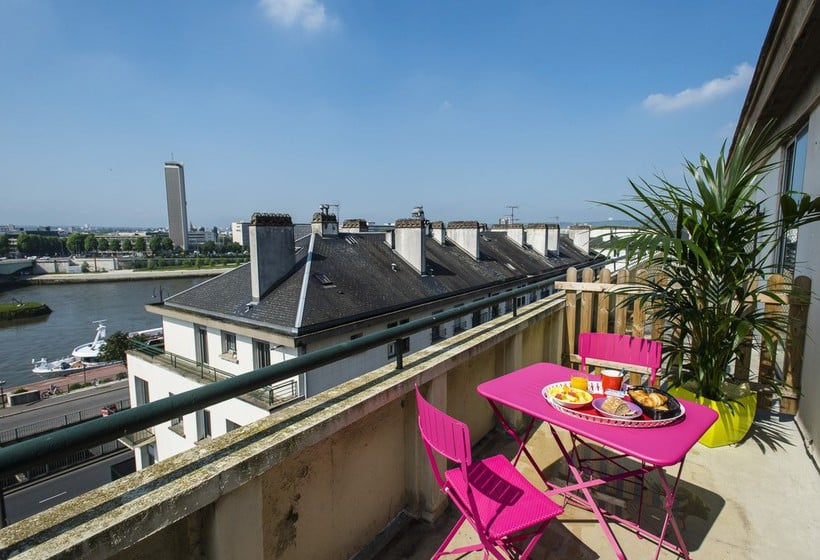 Terrace Hotel Ibis Styles Rouen Centre Cathedrale