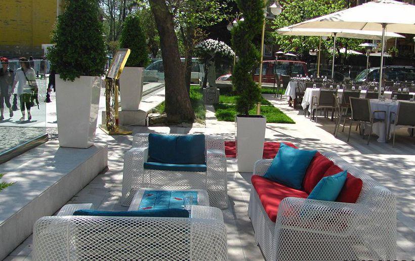 Terrace Hagia Sophia Hotel Istanbul Old City