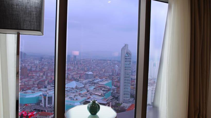 Detail Istanbul Marriott Hotel Sisli