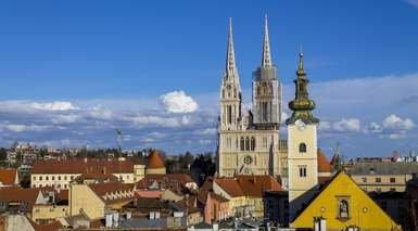 Zagreb, puente de Todos los Santos