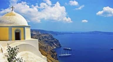 Santorini y Mikonos