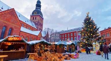 Riga - Mercadillos de Navidad