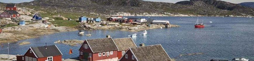 Groenlandia, Tierra de Hielos