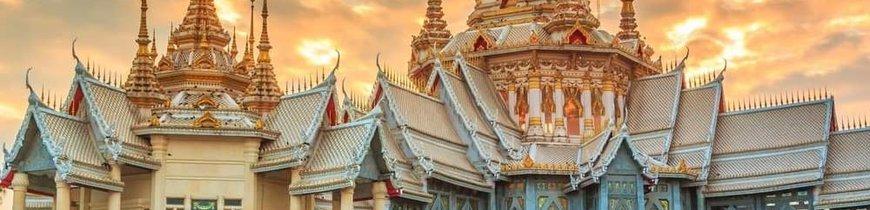 Bangkok, Chiang Rai, Chiang Mai y Playas de Tailandia