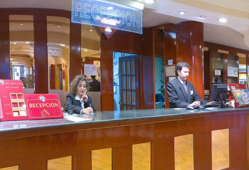 Recepción Hotel Magic Cristal Park Benidorm