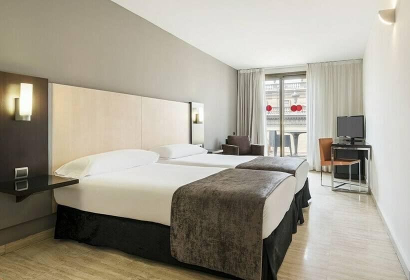 Zimmer Hotel Ilunion Almirante Barcelona